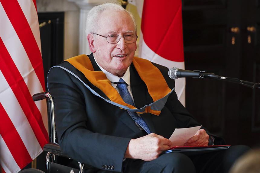 ICU confers degree of Doctor of Humane Letters, honoris causa, on former U.S. Senator John Davison Rockefeller, IV