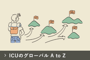 ICUのグローバル A to Z
