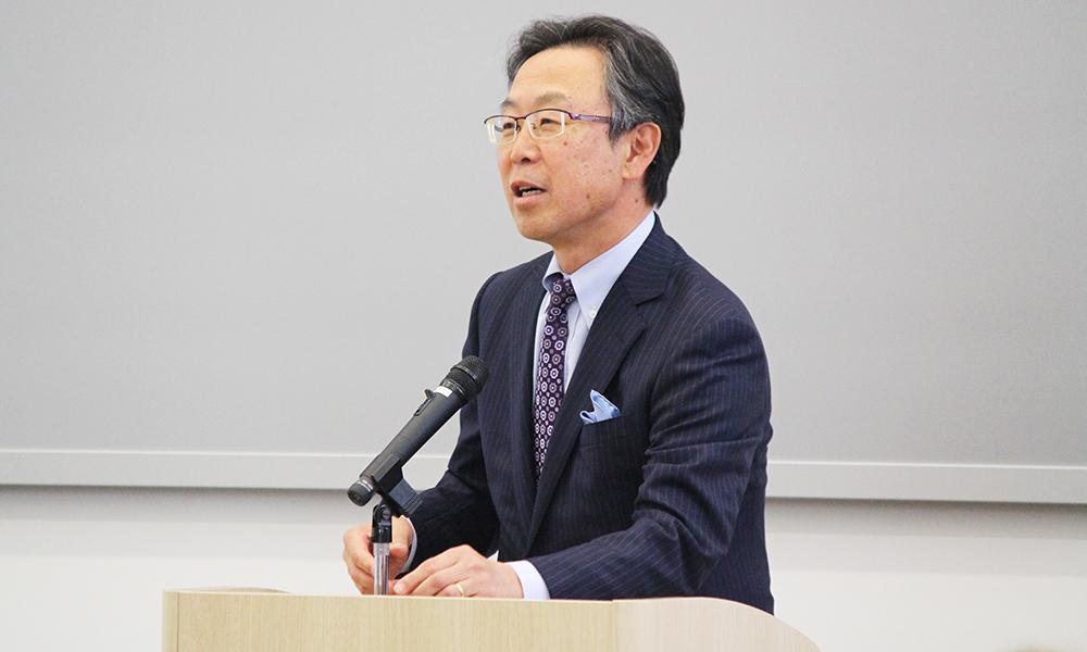 前国連大使・吉川元偉特別招聘教...